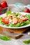 Stock Image : Strawberry salad