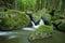 Stock Image : Stream valley