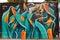 Stock Image : Street Art and Graffiti in Berlin, Germany
