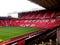 Stock Image : The Stretford End of Old Trafford Stadium