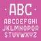 Stock Image : Stylish font, alphabet