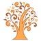 Stock Image : Stylized tree