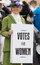 Stock Image : Suffragette - Votes for women