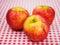 Stock Image : Summer apples