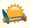 Stock Image : Summer design