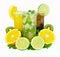 Stock Image : Summer drinks