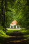Stock Image : Summer house near Milotice castle,