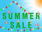Stock Image : Summer sale
