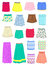 Stock Image : Summer skirts