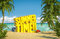 Stock Image : Summer time tropical beach