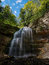 Stock Image : Summer Waterfall