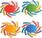 Stock Image : Sun logos