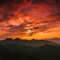 Stock Image : Sunrise jinshanling Great Wall