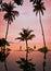 Stock Image : Sunset on Koh Samui