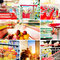 Stock Image : Supermarket Concept Photos