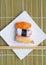 Stock Image :  Sushi nigiri im Teller