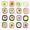 Stock Image : Sushi roll set