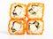 Stock Image : Sushi rolls