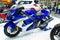 Stock Image : Suzuki Hayabusa motorcycle On Thailand International Motor Expo