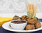 Stock Image : Swedish Meatballs and Sauce as an appetizer.