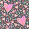 Stock Image : Sweet candy and hearts