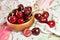 Stock Image : Sweet cherries