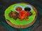 Stock Image : Sweet Fried Beef Daging Empal