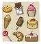 Stock Image : Sweet seamless