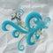 Stock Image : Swirls on crumpled paper