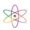 Stock Image : Symbol atom
