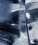 Stock Image : Sześcianu błękitny lód