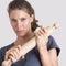Stock Image :  tła domowa ręk głowa odizolowywał gacenie młode przemoc białe kobiety biała kobieta