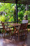 Stock Image :  table in garden