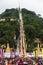 Stock Image : Tak Bat Devo festival at Uthaithani