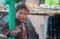 Stock Image : Tarahumara's child.