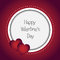 Stock Image : Tarjeta del día de tarjetas del día de San Valentín