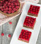 Stock Image : Tasty homemade raspberry pie