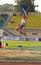 Stock Image : Tatyana Lebedeva: long jump