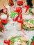 Stock Image :  Tavola di Natale