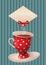 Stock Image : Tea party