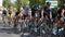 Stock Image : Team Sky Rider in Vuelta a España