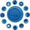 Stock Image : Telecommunication Icons
