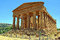 Stock Image : Temple of Concordia Valley of Temples Sicily