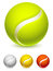 Stock Image : Tennis ball.