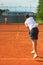 Stock Image : Tennis match