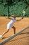 Stock Image : Tennis school