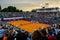 Stock Image : Tennnis match at BRD Bucharest Open
