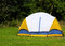 Stock Image : Tent on a meadow
