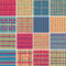 Stock Image : Textile seamless pattern SET No.6