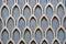 Stock Image : Textured wall geometric pattern